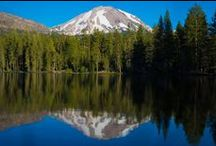 Lassen Volcanic National Park / Lassen Park is the only National Park that you can find all 4 types of volcanoes.  Lassen Park is on the dividing line of the Sierra's and the Cascade's. Great hiking! / by St. Bernard Lodge