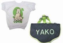 Arneses y Camisetas para mascotas. / Arneses y camisetas personalizadas en diferentes colores, modelos y tamaños.