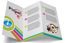 Trípticos Informativos para perros y gatos. / Tripticos con propuestas de salud, cuidado, entretenimiento y mucho más...