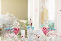 Dessert tables & Candy Bar