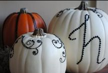 Halloweeny / All things Halloween related- decor, costumes, trunk-or-treat, and fun food ideas!