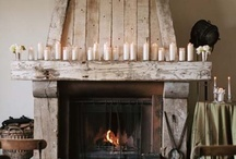 Fireplace love / by Beth ~Unskinny Boppy~