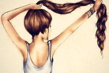 fancy hair styles / by Jaci