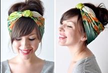 headbands, scarves, tiara, barrettes, bows & pins  / lots of hair goodies