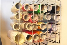 Craftroom Organization Ideas / Things for the craft room to help keep it in order and more ...