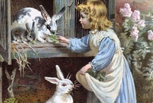 Easter Bunnies / ***Sentimental images of Easter's long past, but never forgotten*** / by Diane Martin- Donar