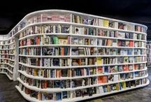 Libraries (Inspiration board) / Other university/public library buildings and spaces that inspire us.