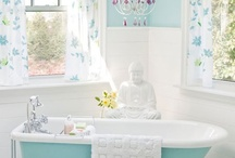 my house ideas=bathrooms / by Julie Jones