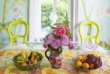 Art House & Creative interiors / Bright and colourfully curated houses.