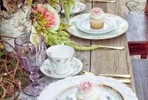 Time for Tea / Tea, cupcakes, sweet treats.