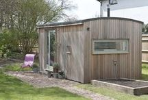 Garden Rooms and tiny houses / Sheds, studios in the garden, pagodas, gazebos...Any space you love in your garden