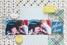 Scrapbook page ideas / by Autumn's Crafty Corner
