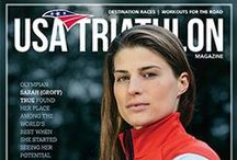 USA Triathlon Magazine / USA Triathlon Magazine features compelling feature stories and member profiles, news and events, articles on training and racing, and much more. / by USA Triathlon