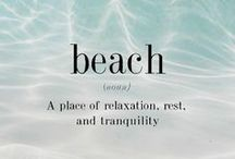 Beach Me! / I love going to the beach, doesn't matter what the season... / by Judith ✌