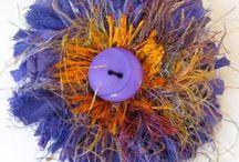 Sari Silk ... ideas / ideas of what would be fun to make with Sari Silk Ribbons
