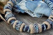 украшения из текстиля