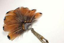 украшения из перьев