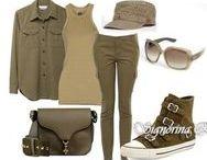 стиль милитари в одежде