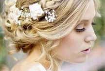Romantic wedding hairdos (and other hairstyles)