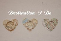 Travel-Themed Weddings / travel / map themed wedding ideas and inspiration