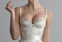 Bridal Lingerie / Lovely lingerie for brides and beautiful bridal boudoir shoots to inspire.