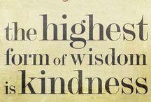 wise words / by Marla Brinkerhoff