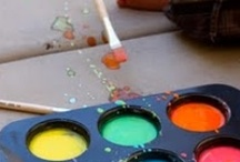 Art ideas for kids and kinder / by Vanessa Noble Horejs
