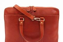 Men's Leather Bags | La Portegna / Vegetable tanned leather bags for him. Handcrafted in Spain.