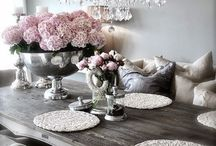 Home decorations / My favorite home decorations and furniture.