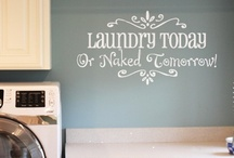 Laundry room / by Yolonda Houle