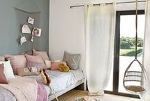 HOME ✭ Girls room / Girls bedroom inspiration