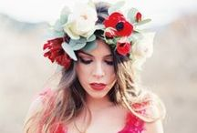 Floral Crowns / by Bridal Musings - Wedding Blog
