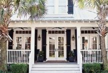 Maison of the south / Beautiful homes and landscapes in North, South Carolina, Georgia.
