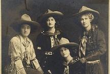 Cowgirls / by Nancy Leonard Everett