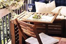 b a l c o n y g a r d e n / beautiful and confortable garden in a small veranda space.