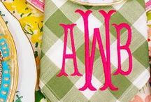 My New Monogram Needs!