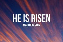 Easter / Remembering Jesus as we celebrate the Easter season.