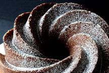 Pound cakes / Some of our own recipes are on our website. Our baking ingredients board has recipes and instructions as well.