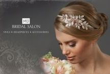 Latest and Greatest Heapieces / Most exquisite headpieces avaibale at M&J Bridal Salon
