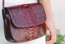 Python Collection | La Portegna / Handcrafted products for women made of python leather.