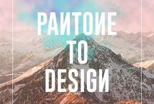 Pantone to Design / Gülçin Emioğlu portfolyo pinidir. GülçinEmiroğlu portfolio pin.