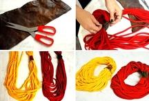 T-Shirt Necklaces & Scarves