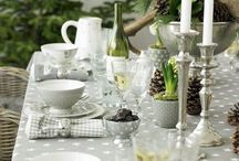 Tables / Ideas for dinner parties or Sunday Brunch