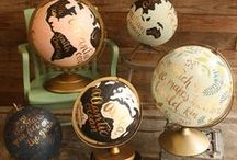 Maps & Globes / by Lori Allred {allreddesign.net}