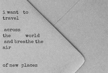 Oh, the places I will go.... / Some day, I will be able to travel to all of these places :) / by Jessica Leach