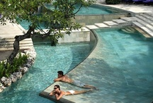 Stunning pools