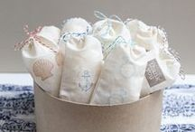 Muslin Bag Ideas / by Lori Allred {allreddesign.net}