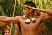 Boys Tahitian costumes