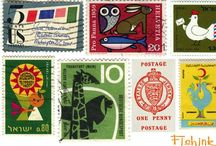 Postage Stamps Love