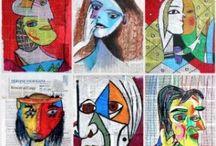 Arts Plastiques et Visuels / le projet EMILE, an acronyme that stands for «Enseignement d'une Matière par l'Intégration d'une Langue Etrangère»; teaching Visual Arts, in English to French students in Kindergarten through 12th grade....
